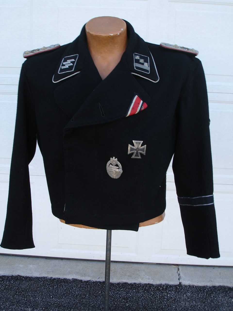 WAFFEN SS PANZER OFFICER TUNIC LEIBSTANDARTE WRAP UNIFORM