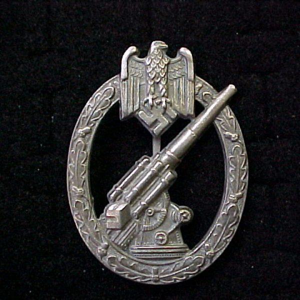 Army Flak Badge Wehrmacht Anti Aircraft Medal Reich