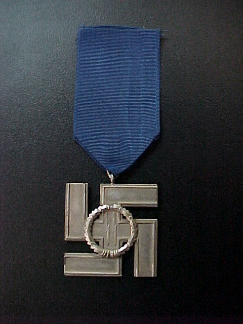 SS 12 YEAR SERVICE MEDAL