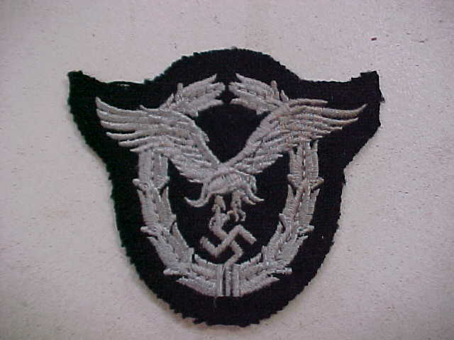 LUFTWAFFE PILOT BADGE CLOTH VERSION