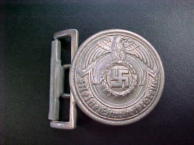 SS OFFICER BELT BUCKLE
