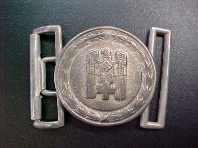 RED CROSS OFFICER BELT BUCKLE