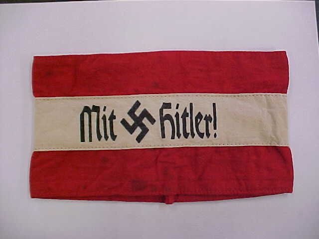 AUSTRIAN NAZI PARTY NSDAP HITLER MOVEMENT ARMBAND