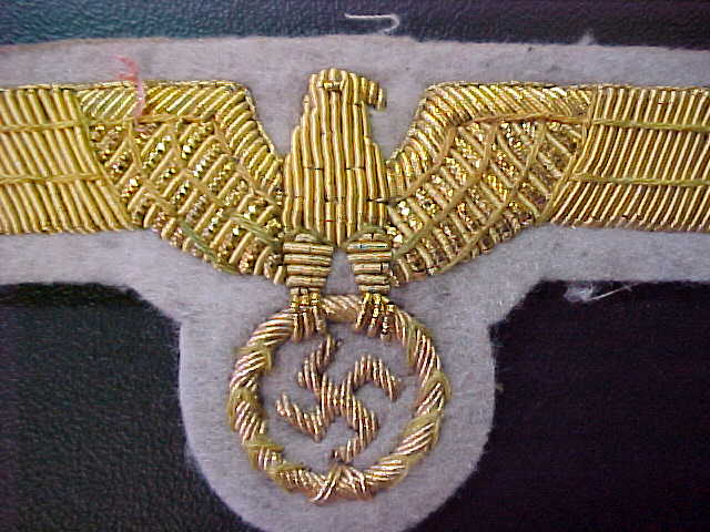 WEHRMACHT GENERAL BREAST EAGLE SUMMER UNIFORM INSIGNIA