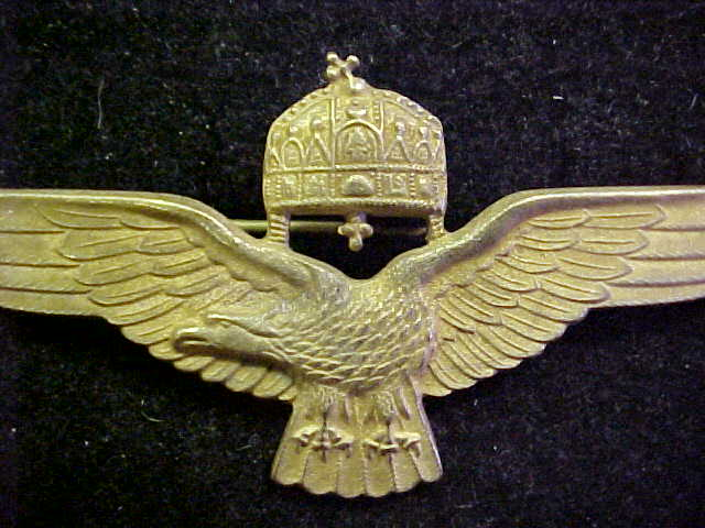 HUNGARIAN PILOT WINGS PUMA SQUADRON LUFTWAFFE BADGE