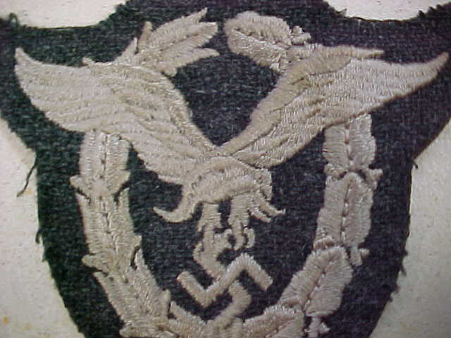 LUFTWAFFE CLOTH PILOT BADGE