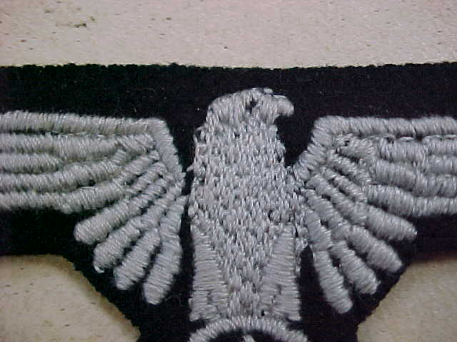 SS ENLISTED SLEEVE EAGLE TUNIC REMOVED