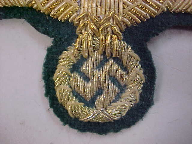 WEHRMACHT HEER GENERAL OFFICER BREAST EAGLE INSIGNIA