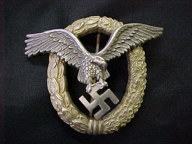 LUFTWAFFE PILOT / OBSERVER BADGE