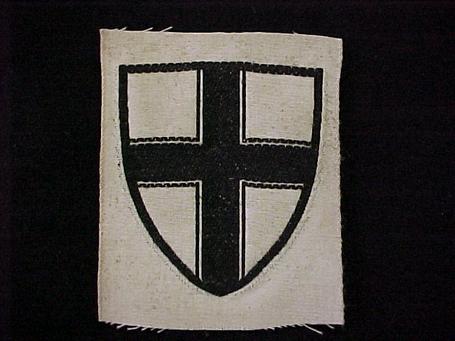 FREIKORPS INSIGNIA GERMAN KNIGHTS CROSS FOR GRENZSCHUTZ OST BADGE