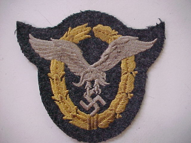 LUFTWAFFE CLOTH PILOT / OBSERVER BADGE
