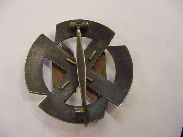 NSKK ARMBAND 1936 MOTOR BRIGADE BERLIN OFF ROAD ORIENTATION EVENT
