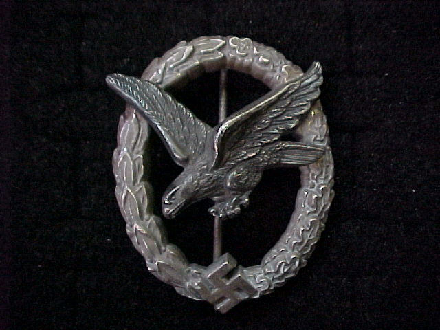 LUFTWAFFE AIR GUNNER AND FLIGHT ENGINEER BADGE MEDAL