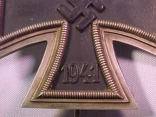 """IRON CROSS 1st CLASS RUSSIAN """"FOR ROBBERY AND MURDER"""""""