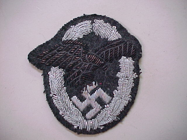 LUFTWAFFE OBSERVER BADGE CLOTH VERSION