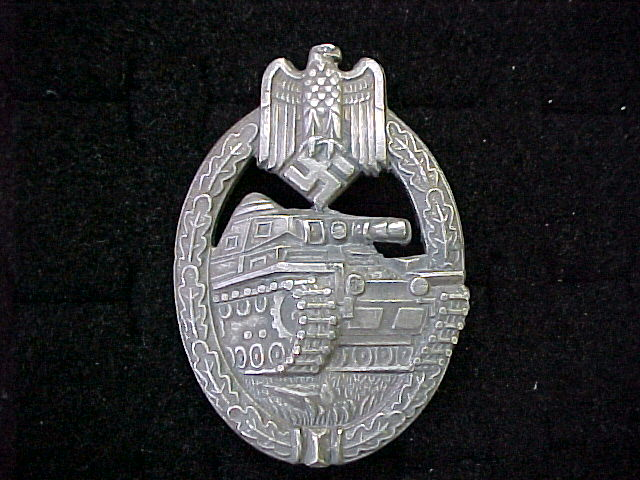 PANZER BADGE SILVER
