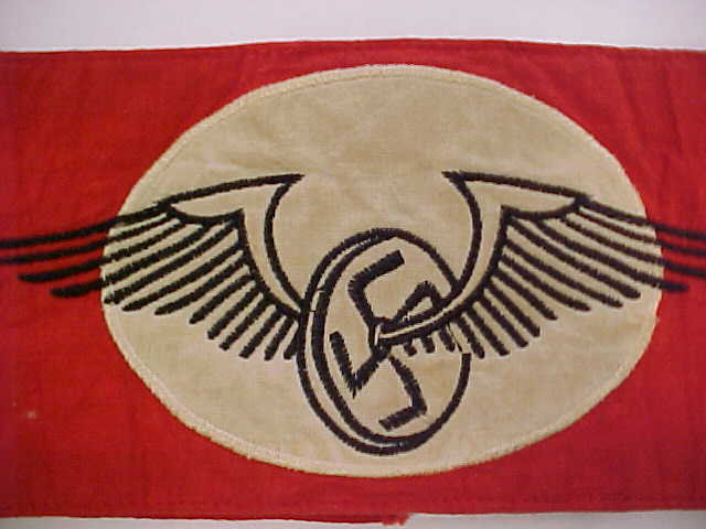 GERMAN RAILWAY SENIOR PARTY MEMBER REICHSBAHN ARMBAND