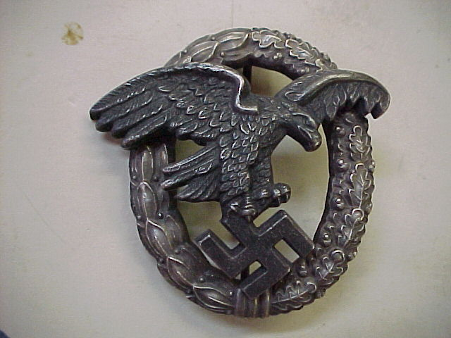 LUFTWAFFE OBSERVER BADGE MEDAL NAZI GERMAN