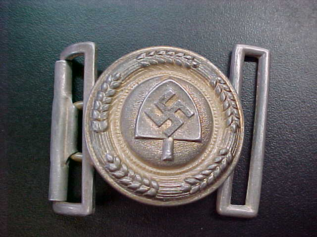 RAD OFFICER BELT BUCKLE
