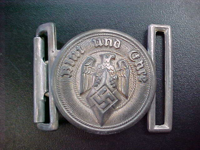 HITLER YOUTH LEADER BELT BUCKLE