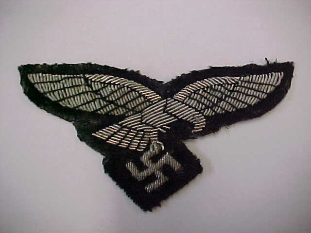 LUFTWAFFE HERMAN GORING PANZER DIVISION OFFICER BREAST EAGLE