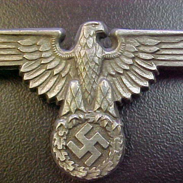 b73dd32cf3d Shop. Home   WW2   German   insignia   WAFFEN SS VISOR HAT SKULL AND EAGLE  INSIGNIA SET