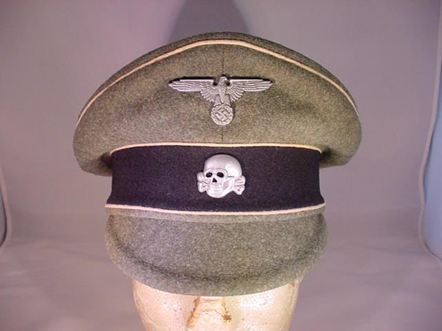 WAFFEN SS ENLISTED CRUSHER VISOR HAT