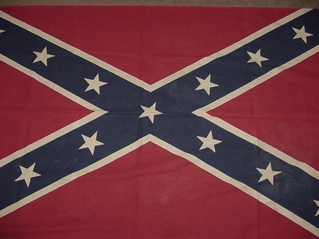 CONFEDERATE FLAG UCV 1930s UNITED CONFEDERATE VETERANS