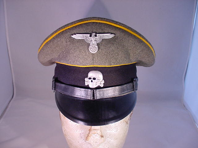 WAFFEN SS ENLISTED VISOR HAT CAVALRY