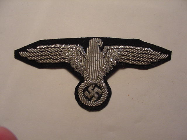 WAFFEN SS OFFICER SLEEVE EAGLE