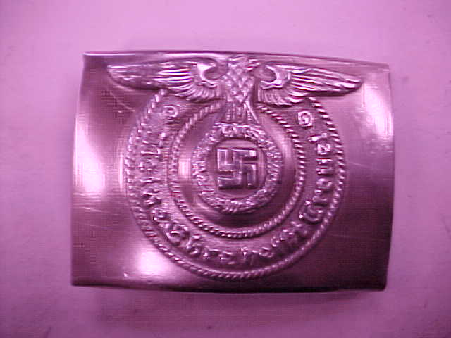 SS ENLISTED PARADE BELT BUCKLE